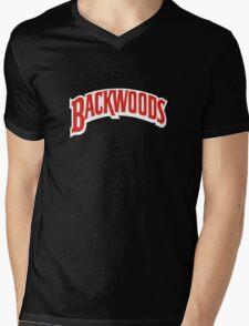 Backwoods Mens V-Neck T-Shirt