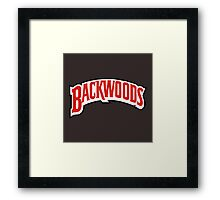 Backwoods Framed Print