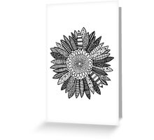 PATTER FLOWER Greeting Card