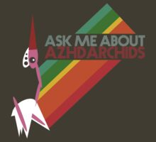 Ask Me About Azhdarchids (dark version) by panaves