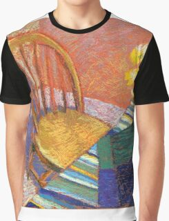 Orange interior with a chair  Graphic T-Shirt