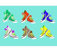 Sneaker Pattern Photographic Print