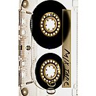 Classic Retro Clear Transparent Mix cassette Tape by Johnny Sunardi