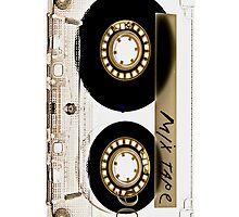 Classic Retro Clear Transparent Mix cassette Tape by Johnny Sunardi