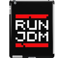 RUN JDM (2) iPad Case/Skin