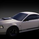 Fourth Generation Mustang Coupe Automotive Art by ChasSinklier