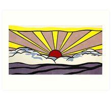Sunset sunrise ? Art Print