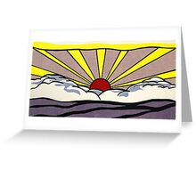 Sunset sunrise ? Greeting Card