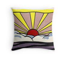 Sunset sunrise ? Throw Pillow
