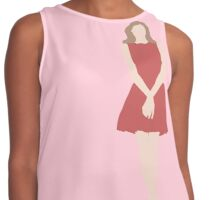 Cherry Beauty Contrast Tank
