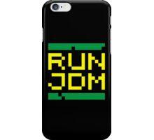 RUN JDM (3) iPhone Case/Skin