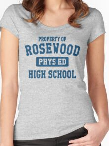 Rosewood High School Women's Fitted Scoop T-Shirt
