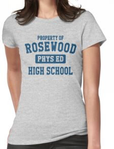 Rosewood High School Womens Fitted T-Shirt