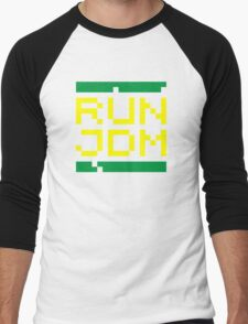 RUN JDM (3) Men's Baseball ¾ T-Shirt
