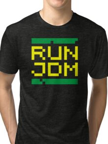 RUN JDM (3) Tri-blend T-Shirt
