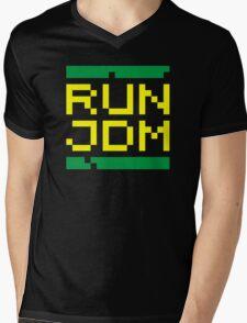 RUN JDM (3) Mens V-Neck T-Shirt