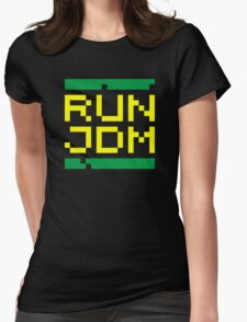 RUN JDM (3) Womens Fitted T-Shirt