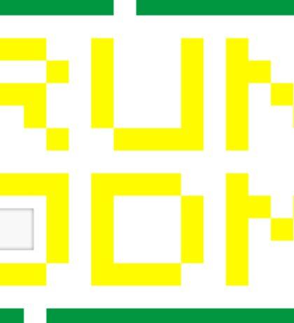 RUN JDM (3) Sticker