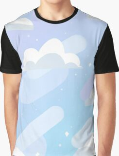 Bubbly Blue Graphic T-Shirt