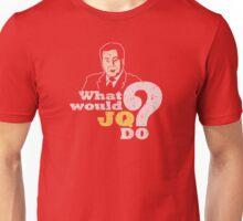 WWJQD? (distressed) Unisex T-Shirt
