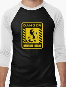 DANGER driver is insane Men's Baseball ¾ T-Shirt