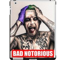 bad notorious iPad Case/Skin