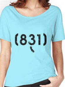 Area Code 831 California Women's Relaxed Fit T-Shirt