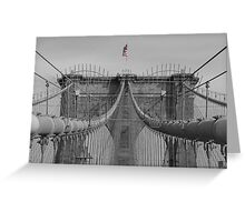 Brooklin bridge Greeting Card