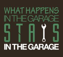 What happens in the garage Stays in the garage (1) by PlanDesigner