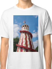 Helter skelter fairground ride Classic T-Shirt