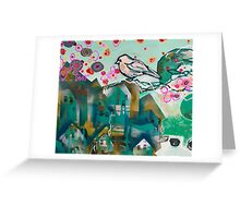 city bird II Greeting Card