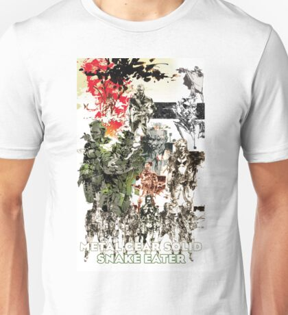 Metal Gear Solid 3: Snake eater Unisex T-Shirt