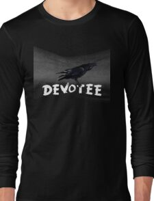 The Devotee's Crow and stars Long Sleeve T-Shirt