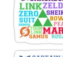 All Things Smash Sticker