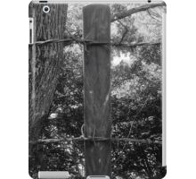 Barbed Wire On The Top iPad Case/Skin