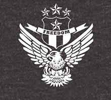 Freedom Crest -White Unisex T-Shirt