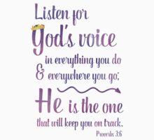 Gods Voice Kids Tee