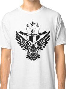 Freedom Crest -Black Classic T-Shirt