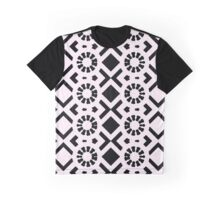Back to Square One Pattern Graphic T-Shirt