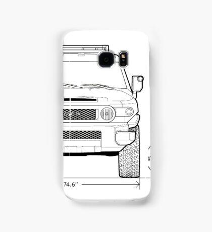 THE LEGEND FJ Samsung Galaxy Case/Skin