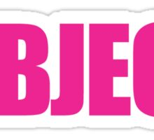 Legally Blonde - I Object! Sticker