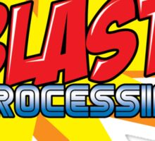 Blast Processing Sticker