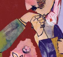 Jago & Litefoot & Rose Sticker