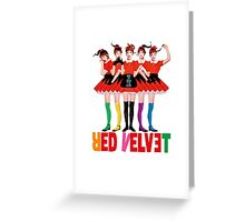 Red Velvet Dumb Dumb Greeting Card