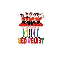 Red Velvet Dumb Dumb Photographic Print