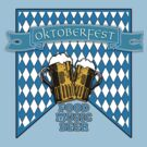 OKTOBERFEST with Foamy Beer Mugs by Greenbaby