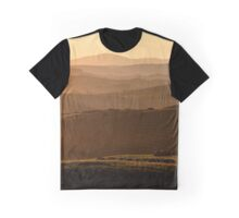 After the dawn, Val D'Orcia, Siena, Tuscany, Italy Graphic T-Shirt