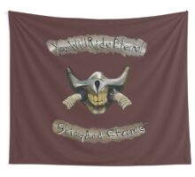 You Will Ride Eternal, Shiny and Chrome Wall Tapestry