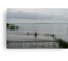 Soft and Silent Grays - the Beautiful Calmness of Overcast Days Canvas Print