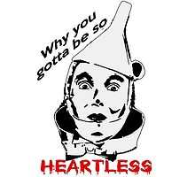 Heartless Tinman by Rachel Flanagan